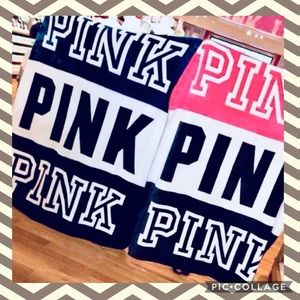 PINK Victoria's Secret Bedding - PINK Victoria's Secret Sherpa Blanket *HTF*